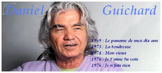 Daniel GUICHARD - Le gitan