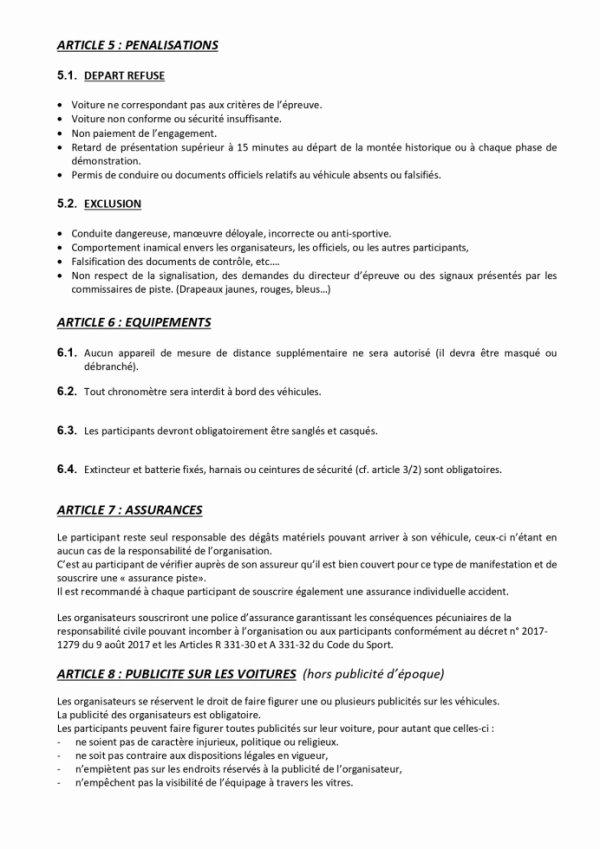 reglement montée historique page 6