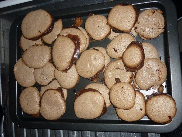 Macarons au chocolat (recette de Christophe Felder)