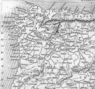 Itinerário XVII Via Romana atravessando a aldeia de Peirezes da chã