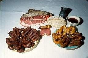 Produits du terroir issus de la région...