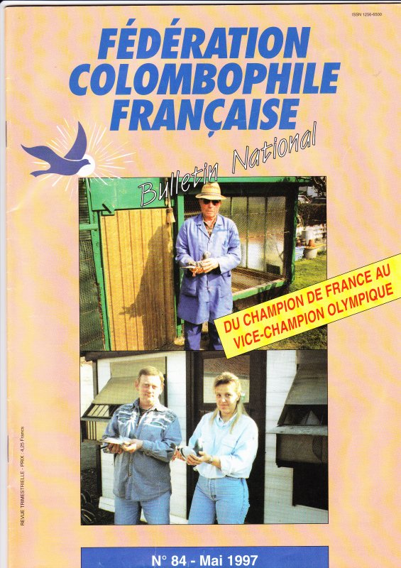 Mr théo Martel champion de france et moi Alain Miternique vice champion Olympique en 97