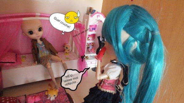 les problêmes de Alice et la brusque arrivé de Emi suite