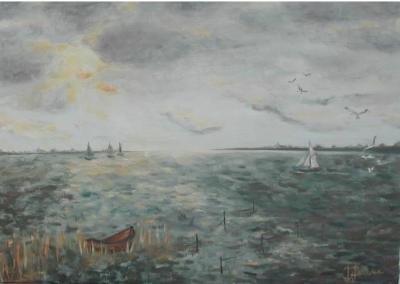 paysage de hollande