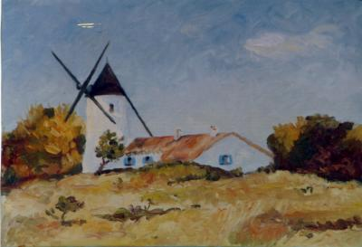 L'ile au moulin (reproduction)