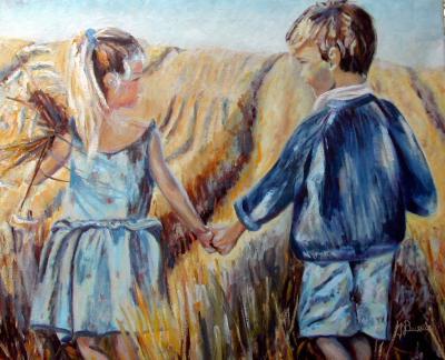 Regard sur les blés