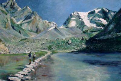 Lac des vaches en Vanoise