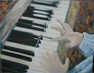 petites mains au piano