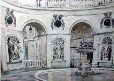 Cour hotel de ville de Lyon