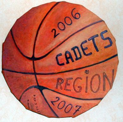 Ballon de basket cadets région