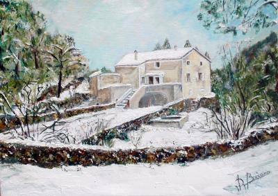 Ternis sous la neige