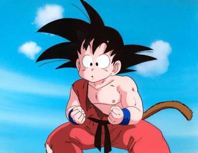 Goku petit dragonball z gt - Petit sangoku ...