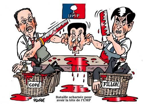 Présidence de l'UMP: La lutte acharnée !!!