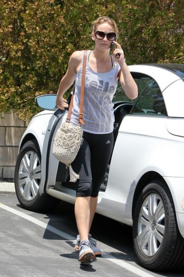 Jennifer Lawrence : Elle se remet au sport avant le début du tournage de Hunger Games 2