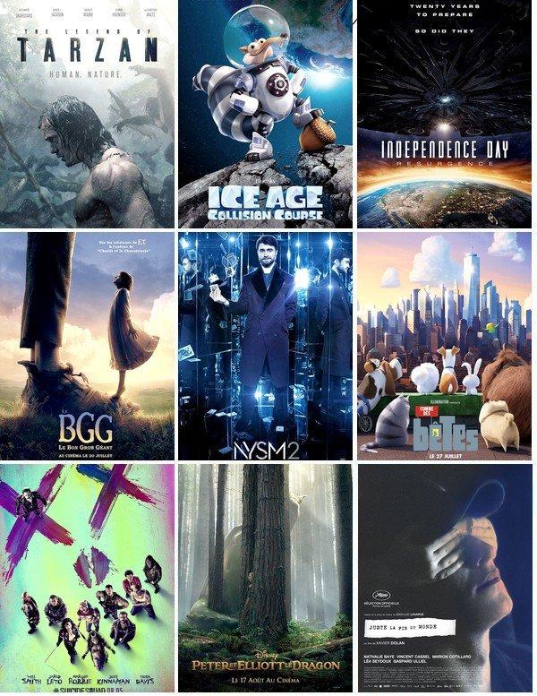 Les prochaines sorties Cinéma 0.4
