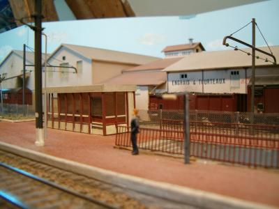 Les abords de la gare d'Arpajon
