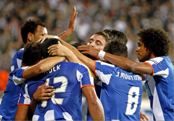 Phase de groupe Europa League: Besiktas 1-3 FC Porto