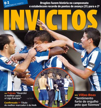 30ème journée Liga Zon Sagres: Maritimo 0-2 FC Porto