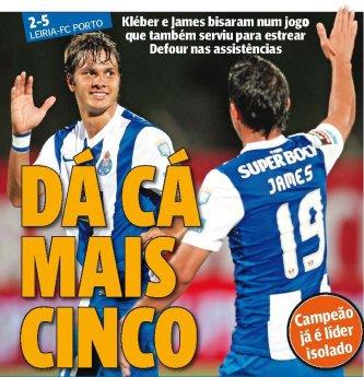 3ème journée Liga Zon Sagres: UD Leiria 2-5 FC Porto