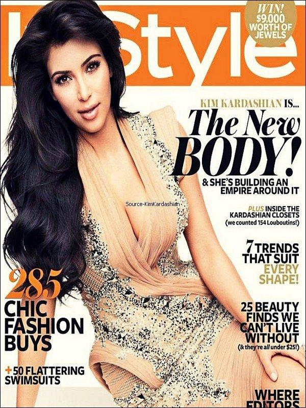 - Kim Kardashian fait la couverture de InStyle en Australie pour le mois de Novembre.-