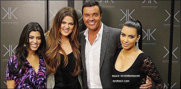 - 02.12.11 : Kim et ses soeurs étaient présente sur le plateau de tournage de Extreme MakeOver Home Edition.-
