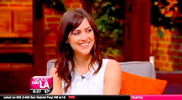 09/04 : Jess était sur le plateau de Good Day LA afin de promouvoir la série The Following