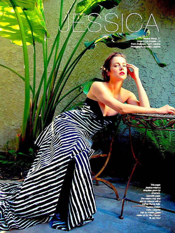 Jess apparaît dans le dernier numéro de The Untitled Magazine : Future & Living Legends of 2014