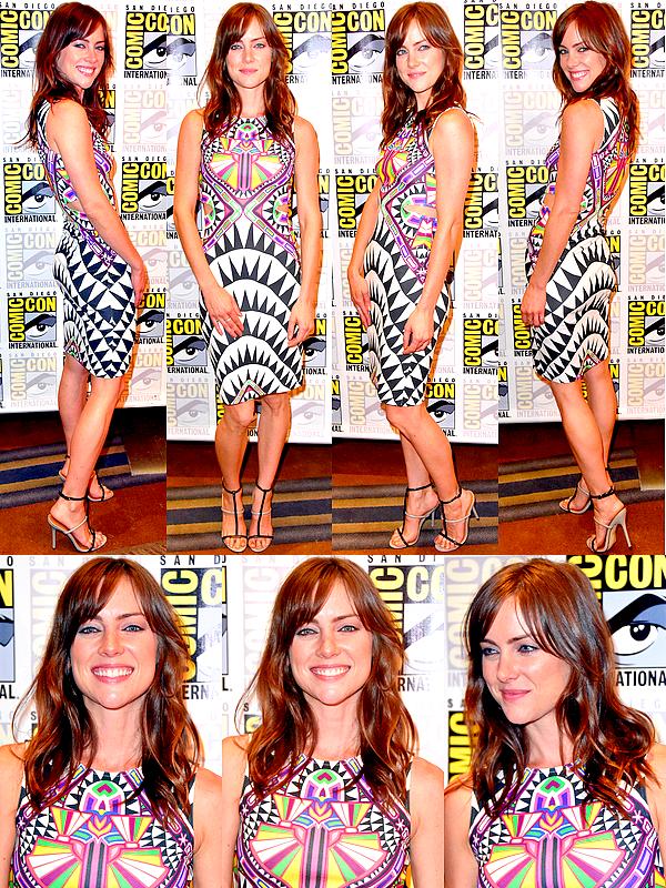 27/07 : Comme prévu, Jessica et le cast étaient au panel de 'The Following' lors du Comic Con