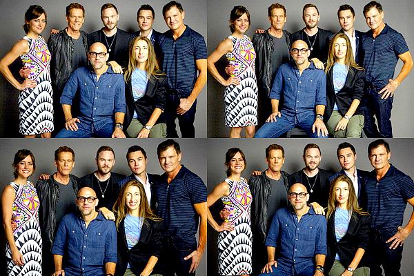 27/07 : Le cast ainsi que les créateurs de la série ont réalisé un shoot dans le cadre du Comic Con