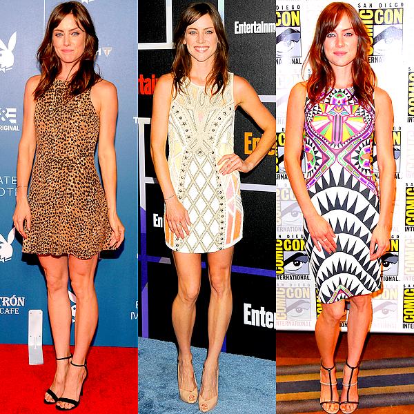Jessica a porté plusieurs robes durant le Comic Con 2014 : quelle est votre préférée ?