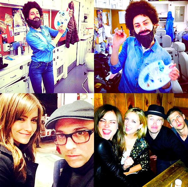 Découvrez les photos de Jessica partagées sur les réseaux sociaux au cours de ces derniers jours Les deux premières datent d'Halloween ! Pour l'occasion, J. était déguisée en Bob Ross (peintre et animateur TV américain).