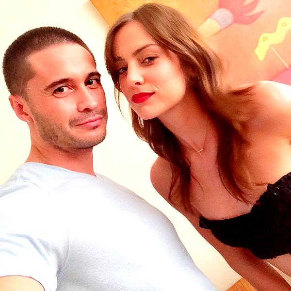 Découvrez une photo Instagram de Jess et son maquilleur Edward Cruz lors de la Fashion Week