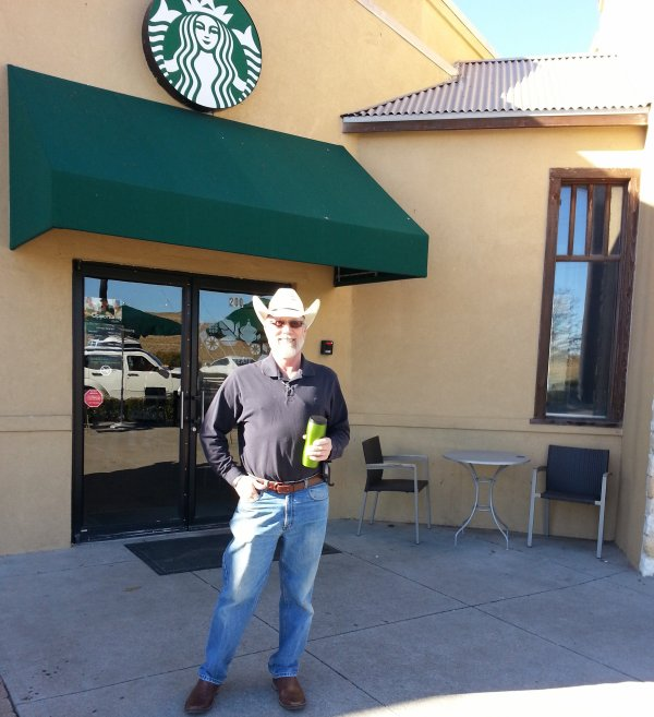 Starbucks, You Know...