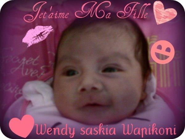 Wendy Saskiia Wapikonii Flamand W, ;D