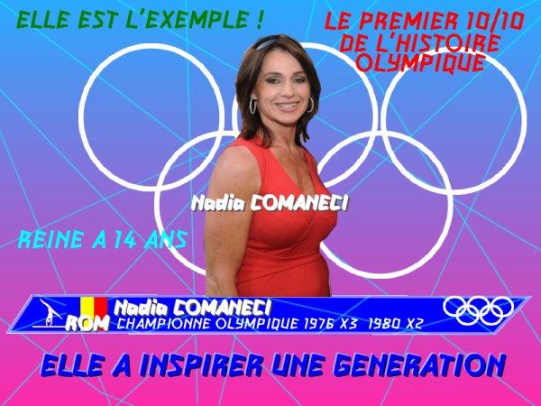 UN OBJET UN EXPLOIT - Nadia COMANECI