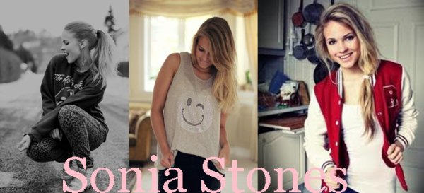 Sonia Stones - 18 ans - Emilie Nereng