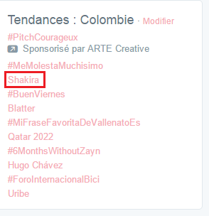 "NEWS : ""Imagine"" de John Lennon chanté par Shakira + Shakira en TT en Colombie!"