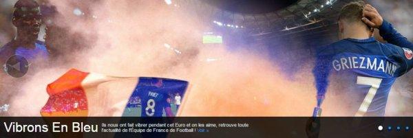 Une passion commune, l'équipe de France