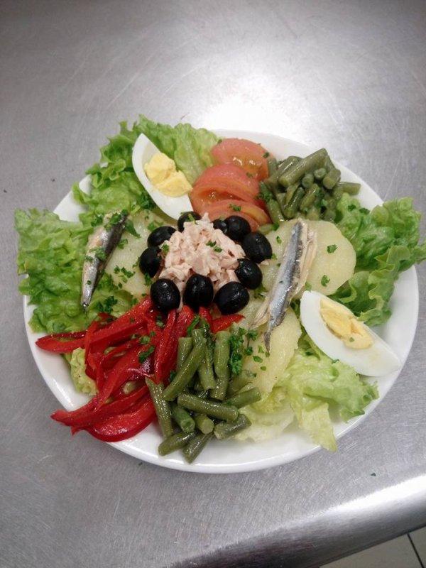salades niçoise