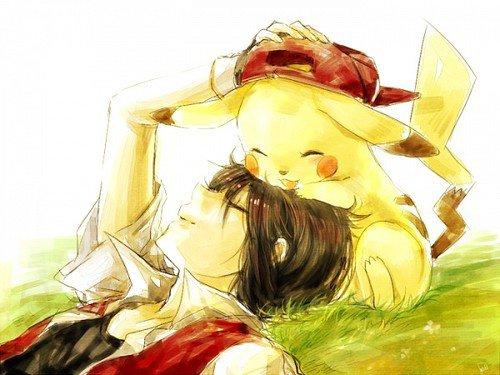 Pikachu et Sasha Kawaiii