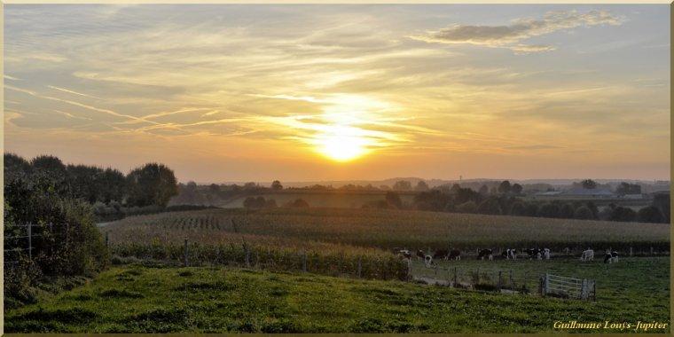 Pêle-mêle solaire d'automne