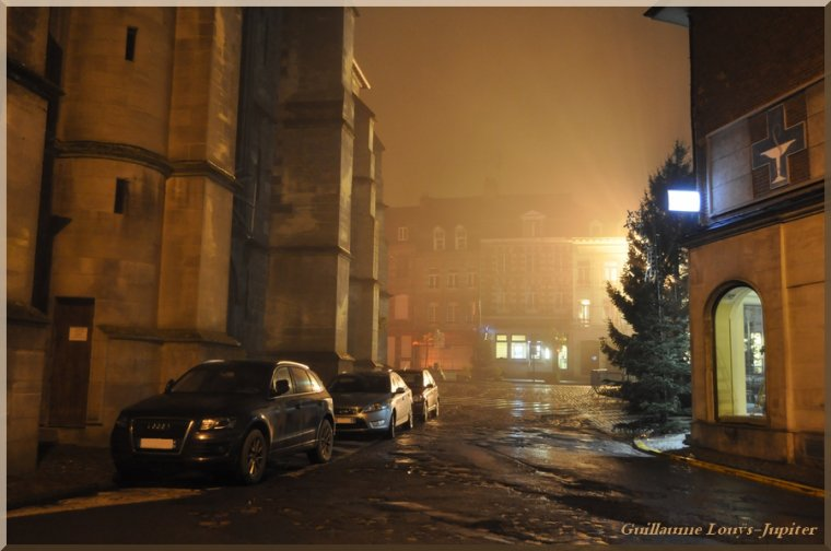 Brouillard nocturne le 28/11/13