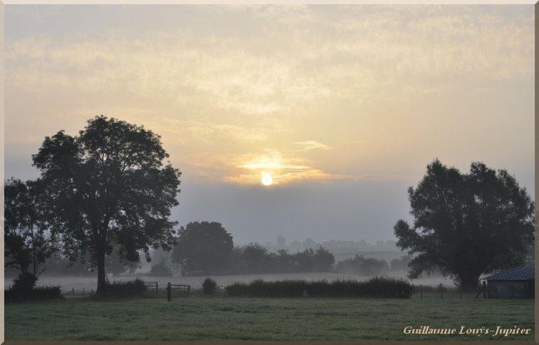 Un peu de brume matinale