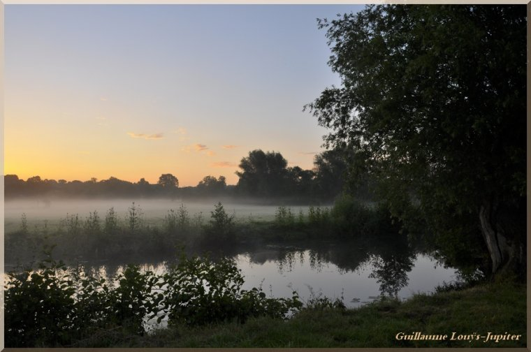 A little mist on the Minor River
