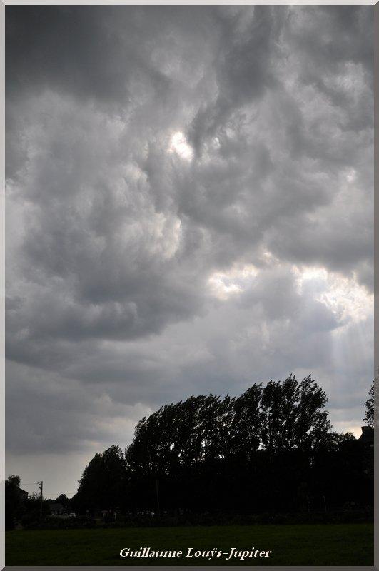 Tendance orageuse le 23/07/14