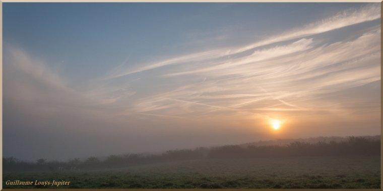 La brume automnale, toujours