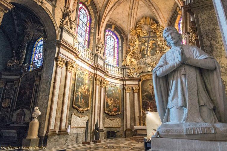 Besançon, la Cathédrale Saint-Jean (26/01/16)