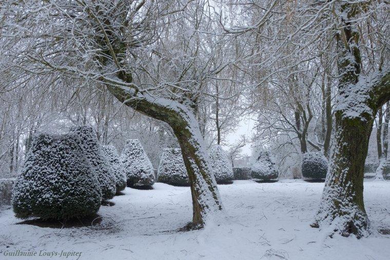 Encore un peu de neige printanière