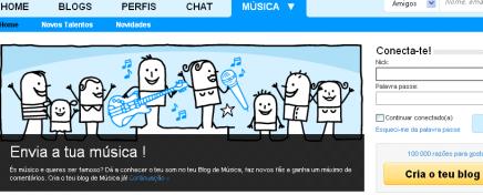 Faz o teu Blog de Música!