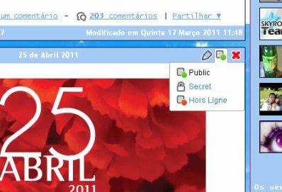 Novo! Configuração Blog e perfil ainda mais simples!